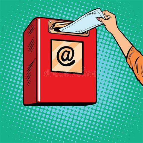invio lettere invio della posta in arrivo di carta delle lettere
