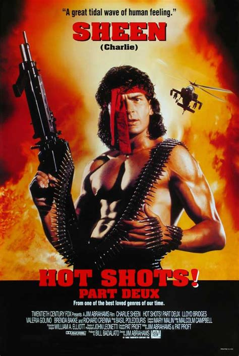 film hot shot full movie hot shots part deux movie posters from movie poster shop