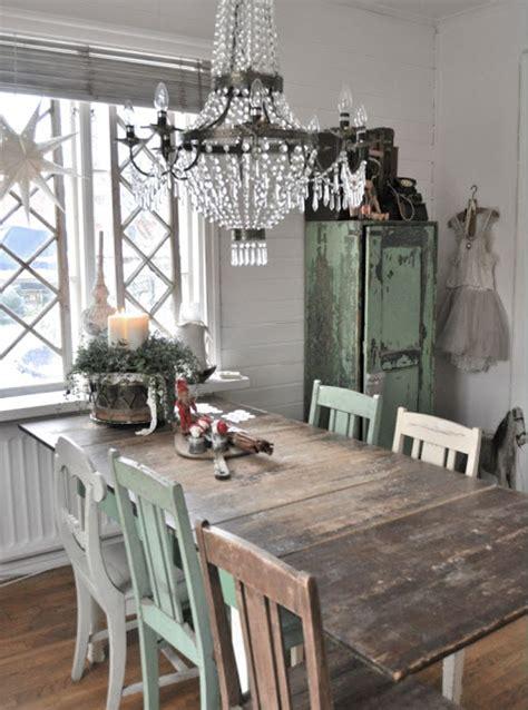 lada industriale vintage inspiration i vitt jul i matsalen