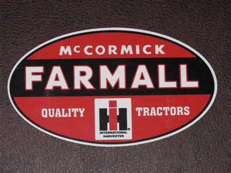 International Harvester Stickers