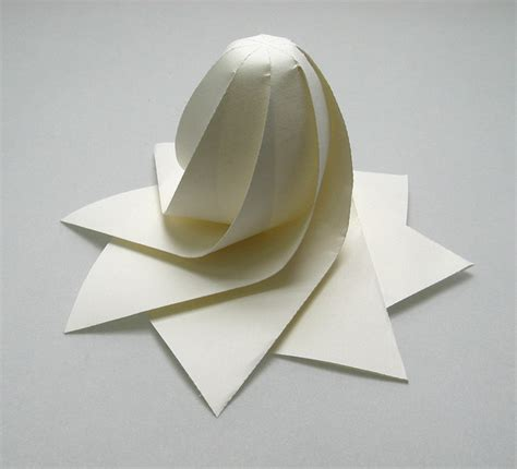 Paper Folding 3d Software - hi tech 3d origami by jun mitani spoon tamago