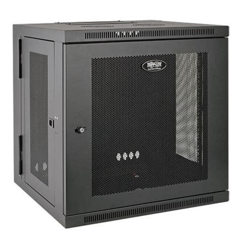 switch cabinet wall mount smartrack 12u low profile switch depth wall mount rack