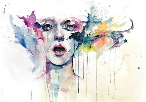 stunning figurative watercolor paintings