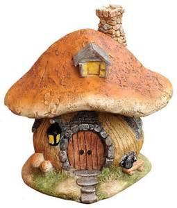 Home Decor Objects Miniature Garden House Rustic Decorative Objects And Figurines By