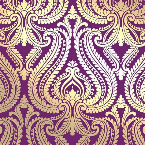 purple gold wallpaper uk i love wallpaper shimmer damask metallic designer feature