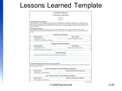 lessons learned template pmbok lessons learned template pmbok harriscatering info