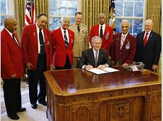 President George W. Bush is joined by members of the ... Veterans Affairs Jobs