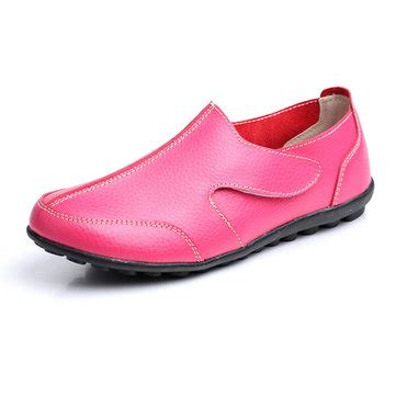 Flat Shoeskr 82 065 flats loafers shoes comfortable slip on soft leather casual toe flat us 20 67