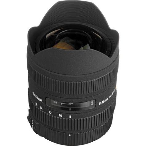 Sigma 8 16mm F45 56 Dc Hsm For Nikon sigma 8 16mm f 4 5 5 6 dc hsm ultra wide zoom lens 203109 b h