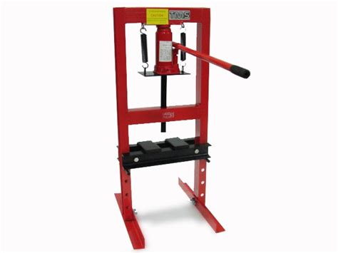 bench shop press 6 ton hydraulic bench table top shop press bottle jack ebay