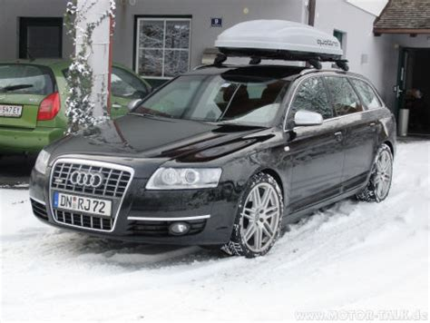 Dachbox Audi A6 Avant by Dachbox Aber Bitte Leise Audi A6 4f