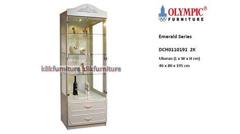 Lemari Olympic Termurah lemari hias kaca dch0110191 2k olympic emerald promo termurah