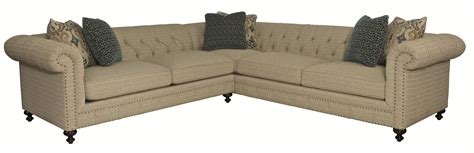 bernhardt riviera sofa bernhardt riviera sectional with rolled arms and tufted