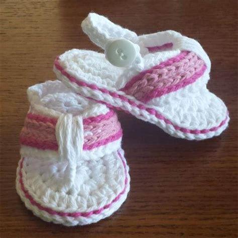how to crochet baby sandals free crochet pattern baby flip flops dancox for