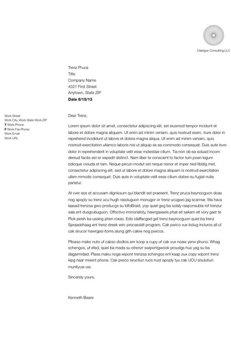 up letter dear how to format and write a simple business letter