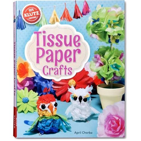 Paper Craft Kits - klutz tissue paper crafts craft kits