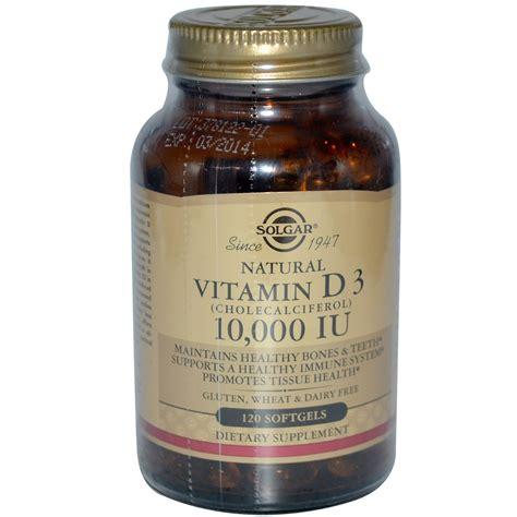best vitamin d3 solgar vitamin d3 10 000 iu 120 softgels