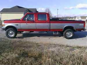 1997 Ford F350 Crew Cab Sell Used 1997 Ford F 350 Crew Cab 7 3 Powerstroke 4wd