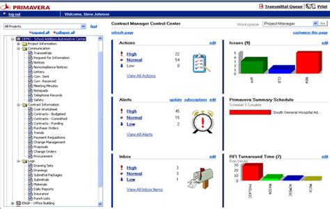 primavera contract manager software free software and