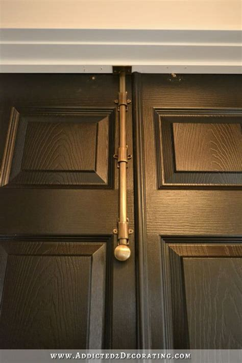 How To Open A Locked Closet Door Finished Bi Fold Closet Doors Used As Doors