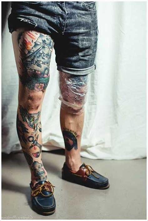 50 fotos de tatuagens na perna masculinas e femininas
