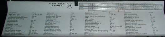2007 bmw x5 fuse box diagram 2007 free engine image for
