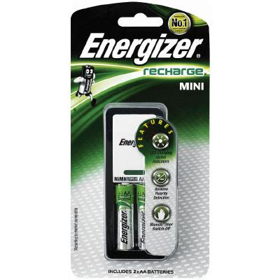 Charger Mini Energizer energizer charger mini charger with 2 x 1300mah aa