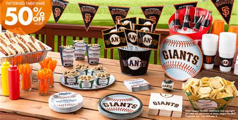 san francisco themed decorations mlb san francisco giants supplies city