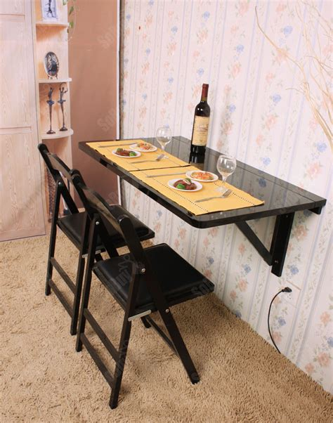 sobuy large size wall mounted drop leaf table dining