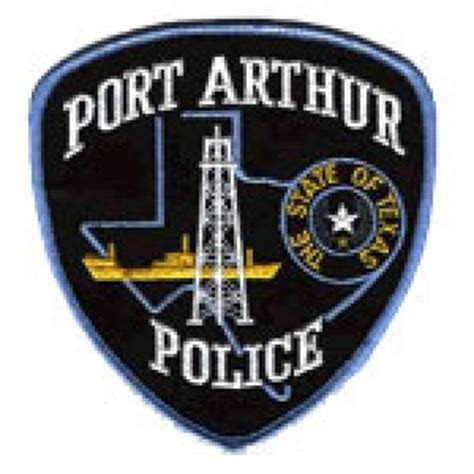 Port Arthur Tx Arrest Records Special Officer Richard D Quot Quot Hamilton Port Arthur Department