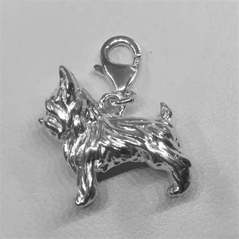 yorkie pandora charm terrier charm sterling silver fits pandora bracelet