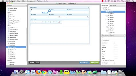 extjs 5 table layout extjs designer table layout youtube