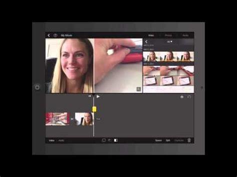 tutorial imovie ipad español imovie ipad tutorial youtube