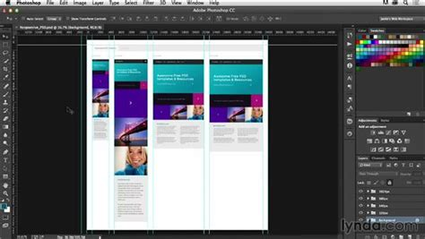 responsive layout in photoshop creating responsive templates in photoshop