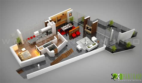 3d ground floor plan residential 3d ground floor plan design yantram architectural design studioyantram