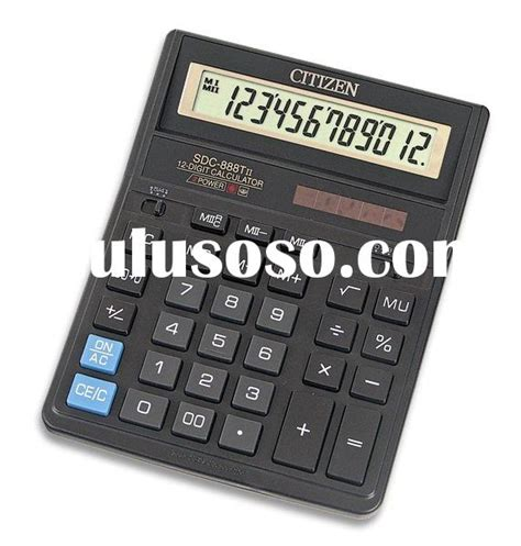 Calculator Citizen Sdc 868 L citizen sdc 868 calculator citizen sdc 868 calculator manufacturers
