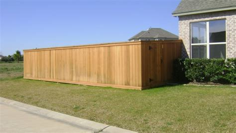 How To Build An Affordable House wood fence houston tx residential amp commercial fence