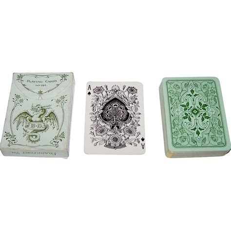 english pattern playing cards dondorf no 191 poker playing cards standard english