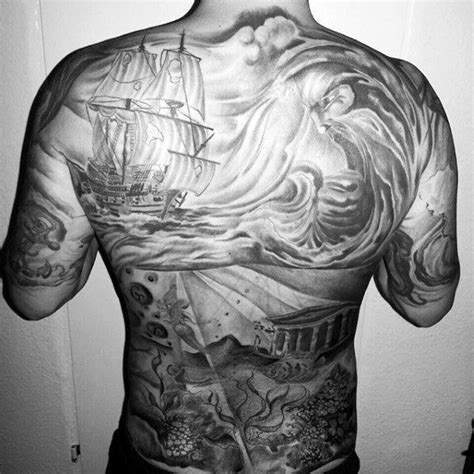 underwater scene tattoo designs 80 water tattoos for masculine liquid designs
