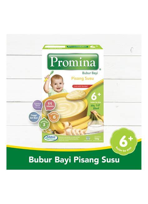 promina bubur bayi  pisang susu box  klikindomaret