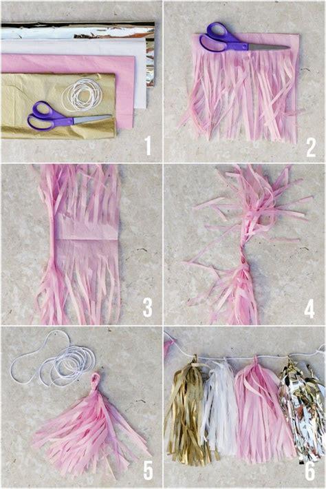 How To Make Paper Garland Decorations - freshteebee i pretty much what i like and dislike