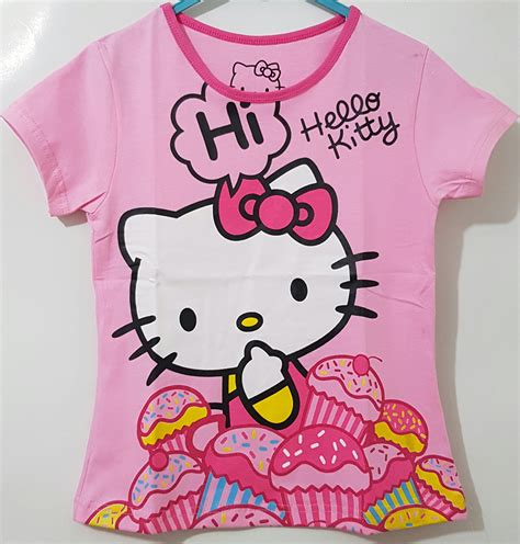 Kaos Polo Hellokitty 1 kaos hello cake pink 1 6 disney grosir eceran