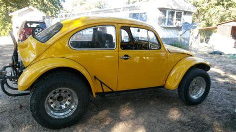 yellow baja bug 1968 vw baja beetle bug