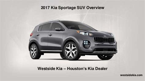 Kia Sportage Suv 2017 Kia Sportage Suv Overview