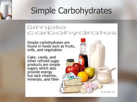 3 simple carbohydrates ppt nutrition carbohydrates powerpoint presentation