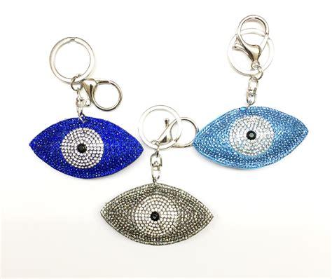 Rhinestone Keychain rhinestone evil eye keychain rhinestone keychains and ponys