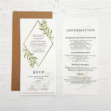 Wedding Stationery Collections by Wedding Stationery The Laurel Collection By Design By