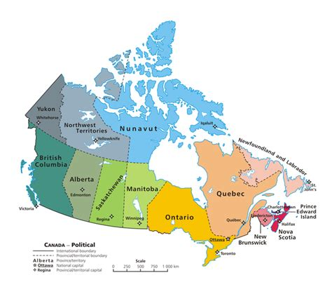 canadian map political movingtocanada home