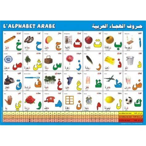 lettere arabe poster l alphabet arabe librairie oummati