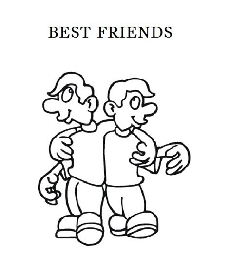 friendship s day coloring part 7
